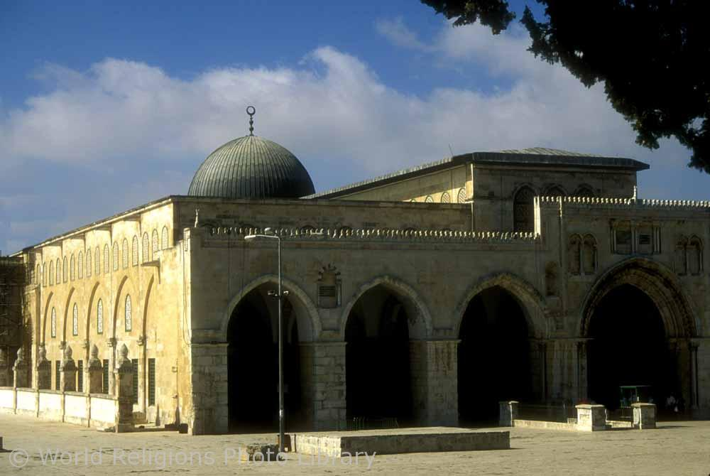 Al Aqsa Mosque on the Haram-ash-Sharif is the third most important site in Islam