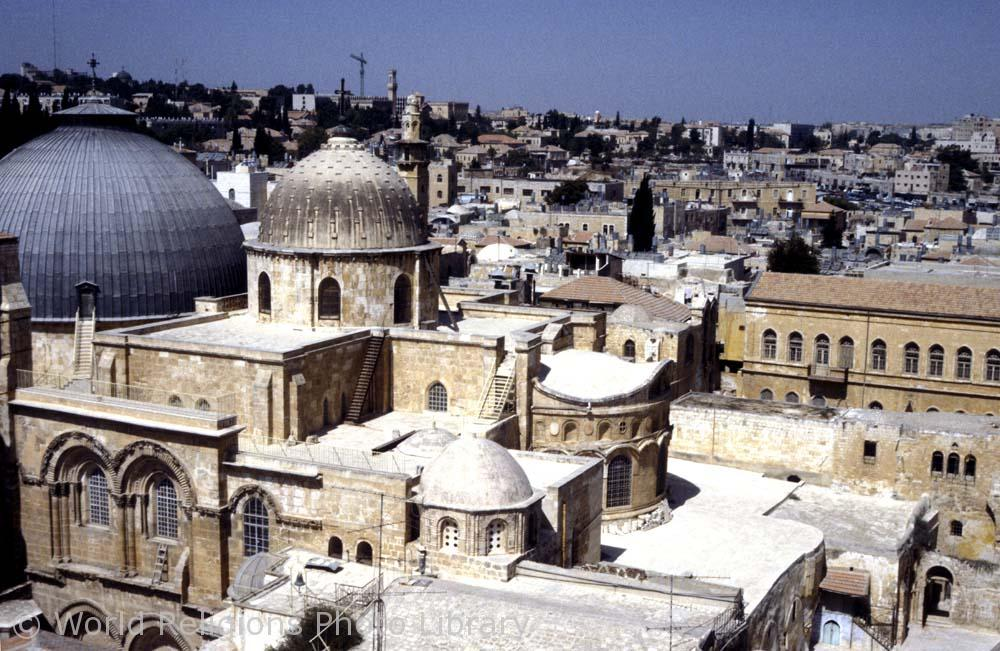 Church of Holy Sepulchre in Jerusalem