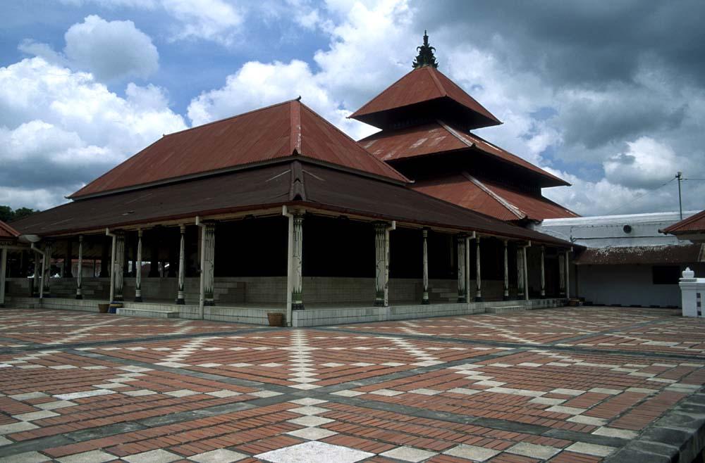 18th century mosque Yogyakarta Indonesia