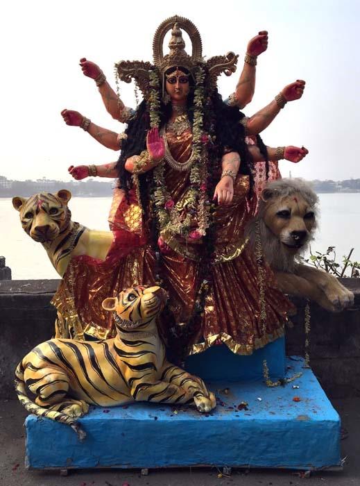 Goddess Kali, Hooghly river, Kolkata