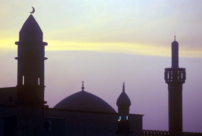 Ramadan, dawn in Kuwait